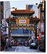 Chinatown - Philadelphia Canvas Print by Bill Cannon
