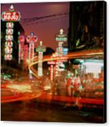 Chinatown In Bangkok Canvas Print