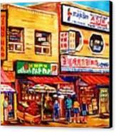 Chinatown Markets Canvas Print