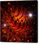 Chinese Dragon Galaxy Canvas Print