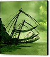 Chinese Fishing Net Canvas Print by Farah Faizal