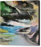 Chinese Landscape 1 Canvas Print