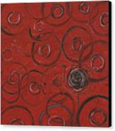 Choices In Red Canvas Print