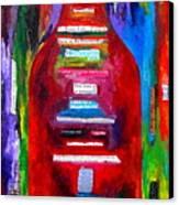 Choose Strength Canvas Print by Patti Schermerhorn