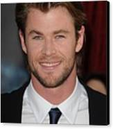 Chris Hemsworth At Arrivals For Thor Canvas Print