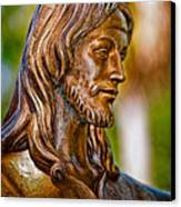 Christ In Bronze Canvas Print by Christopher Holmes