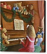Christmas Concert Canvas Print