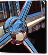 Chrysler Town And Country Steering Wheel Canvas Print