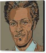 Chuck Berry - Brown-eyed Handsome Man  Canvas Print