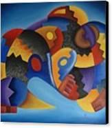 Chujllas Mayu Apu Canvas Print by Fernando  Ocampo Sandy