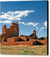 Church Abo - Salinas Pueblo Missions Ruins - New Mexico - National Monument Canvas Print