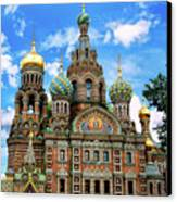Church Of The Spilled Blood Canvas Print