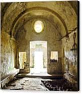 Church Ruin Canvas Print