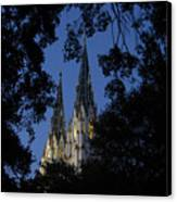 Church Steeples Canvas Print
