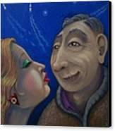 Cid Meets Lorain Canvas Print by Marjorie Hause