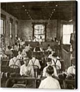 Cigar Factory, 1909 Canvas Print by Granger