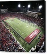 Cincinnati Nippert Stadium The Home Of Bearcat Football Canvas Print by University of Cincinnati
