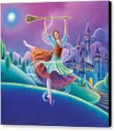 Cinderella Canvas Print by Anne Wertheim