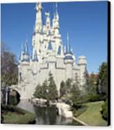 Cinderella Castle Reflections Canvas Print
