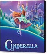 Cinderella Poster Canvas Print by Anne Wertheim