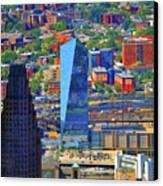 Cira Centre 2929 Arch Street Philadelphia Pennsylvania 19104 Canvas Print by Duncan Pearson