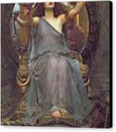 Circe Offering The Cup To Ulysses Canvas Print