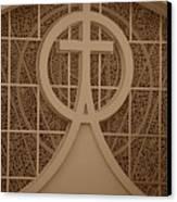 Circle T Church Canvas Print