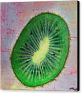 Circular Food - Kiwi Canvas Print
