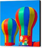 Circus In The Sky - Three Canvas Print