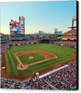 Citizens Bank Park - Philadelphia Phillies Canvas Print by Mark Whitt