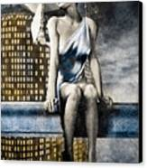 City Angel -2 Canvas Print