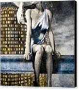 City Angel -2 Canvas Print by Bob Orsillo