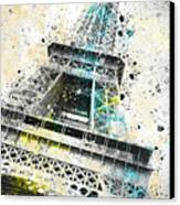 City-art Paris Eiffel Tower Iv Canvas Print