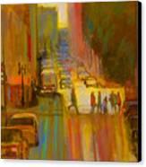 City Crosswalk Canvas Print