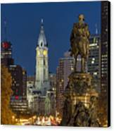 City Hall Philadelphia Canvas Print