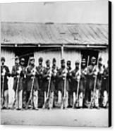 Civil War: Black Troops Canvas Print