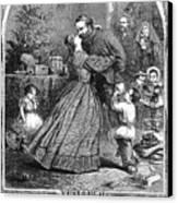 Civil War: Christmas Canvas Print by Granger