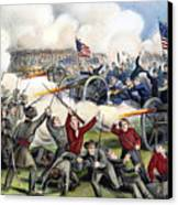 Civil War: Gettysburg, 1863 Canvas Print