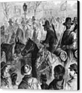 Civil War: Prisoner, 1864 Canvas Print