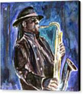Clarence Clemons Canvas Print