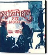 Clarinda's Tea Room Canvas Print