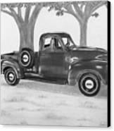 Classic Gmc Truck Canvas Print