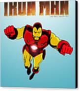 Classic Iron Man Canvas Print