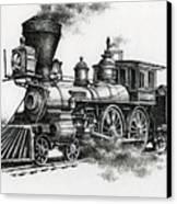 Classic Steam Canvas Print
