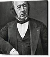 Claude Bernard, French Physiologist Canvas Print by Photo Researchers