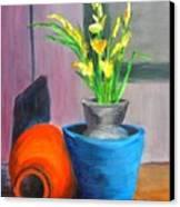 Clay Display Canvas Print
