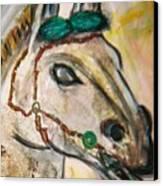 Clay Horse Canvas Print