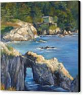 Clear Day At Point Lobos Canvas Print