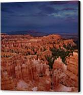 Clearing Storm Over The Hoodoos Bryce Canyon National Park Canvas Print