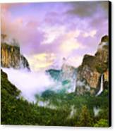 Clearing Storm Over Yosemite Valley Canvas Print